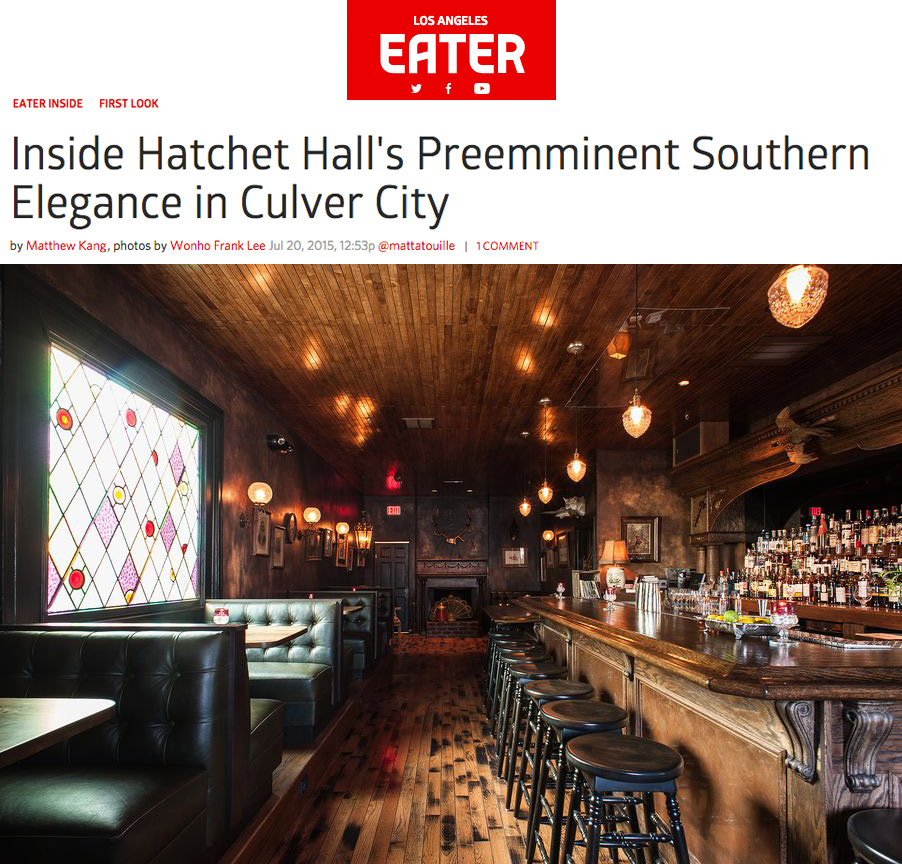 LA Eater Hatchet Hall review