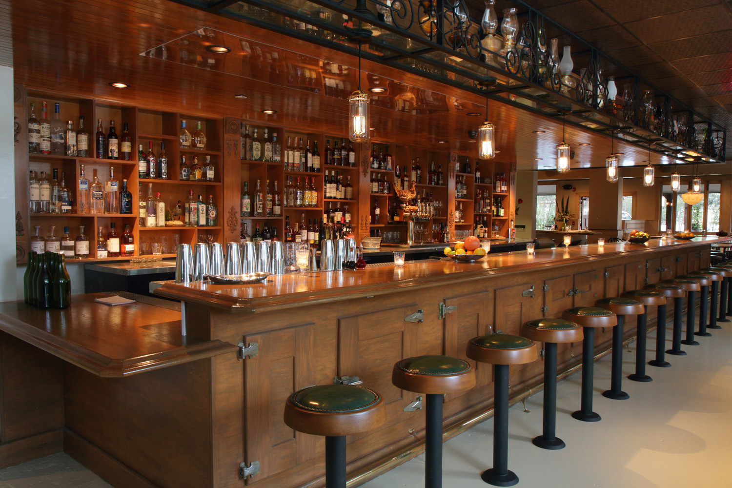 Hatchet Hall Main Bar